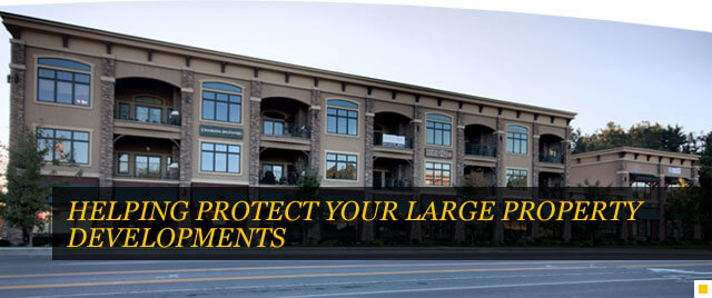 Helping Protect Your Large Property Developments
